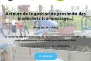 Un annuaire des acteurs de la gestion de proximité des biodéchets (compostage, paillage,…)