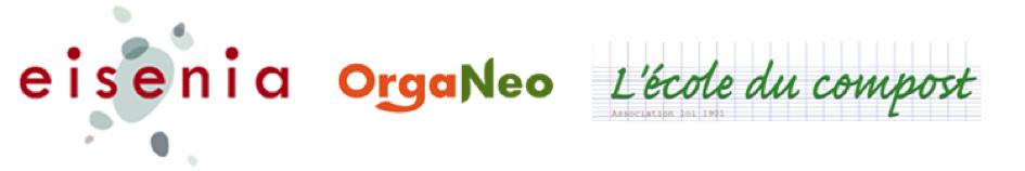 Organeo - Eisenia - Ecole du compost